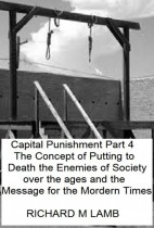 Capital Punishment Essay Part IV - History