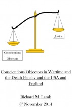Conscientious Objectors in Wartime and The Death Penalty and The USA and England