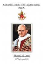 Giovanni Montini Who Became Blessed Paul VI