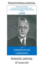 Richard Anthony Lamb Esq. The Conservative Candidate
